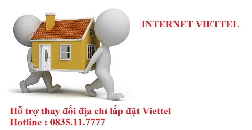 thay đổi địa chỉ lắp đặt wifi viettel